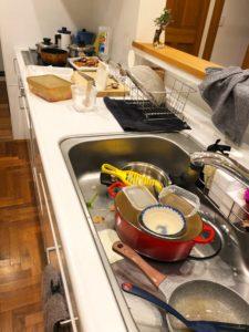 キッチンのリセット