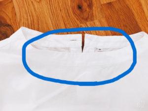 白いシャツは毎年買い替え